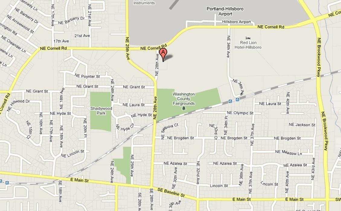Map Of Hillsboro Oregon JUDO OREGON   Ojukan Judo